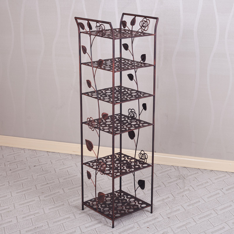 European Style Wrought Iron Shoe Rack Floor Type Simple Vertical Shoes Shelf In Racks Organizers From Home Garden On Aliexpress Alibaba