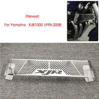 Motorcycle Parts Radiator Grille Grill Guard Cover Protector For YAMAHA XJR 1300 XJR1300 1998 2008 High Quality Stainless Steel