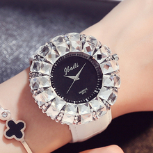 Glitter White Rhinestone Watch