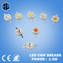 10pcs High Power LED lamp Bulb 1W 3W Red Pink Purple RGB Diodes SMD LEDs Chip For 3W - 18W Spot light Downlight