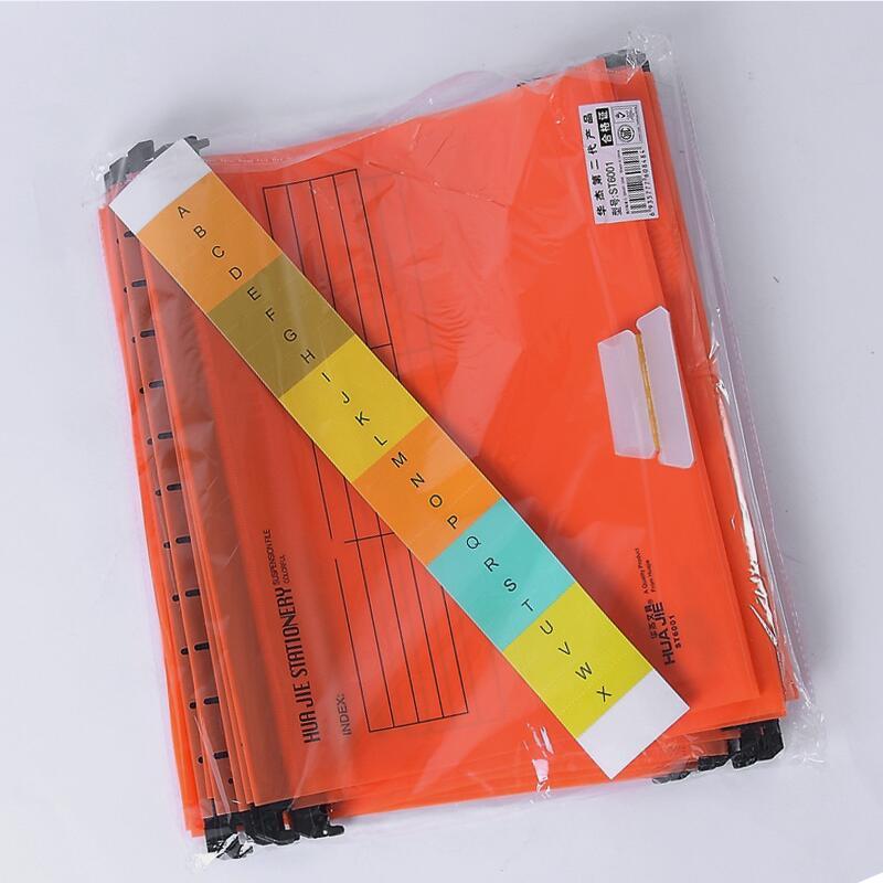 В виде бабочек, новинка, 12 шт./упак. A4 Экстра Ёмкость усиленный подвесных папок быстро подвесной зажим категория теги быстро найти для Бизнес для офиса - Цвет: orange