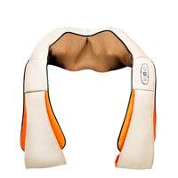 Car Home Use Shoulder Taping Knocking Kneading Massager Belt Cervical Shiatsu Massage Infrared Heating Full Body