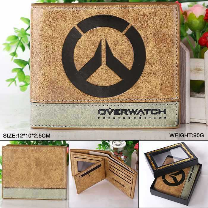 Game Overwatch Wallets  Overwatch Purse short wallet For men women Leather Money Bag hot pvc purse games overwatch wallets for teenager creative gift money bags fashion casual men women short wallet page 8