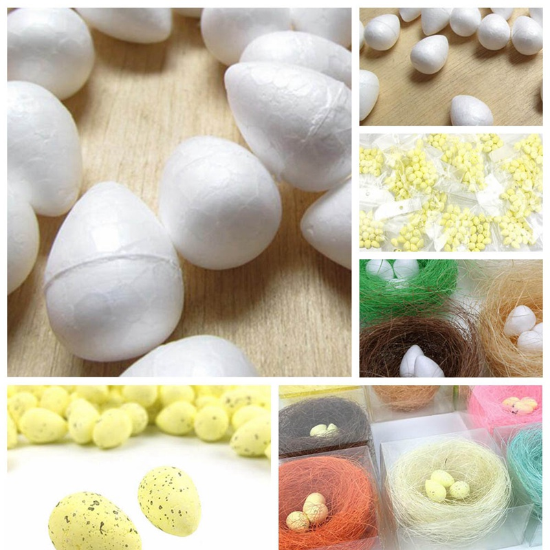 20Pcs/lot mini Foam Quail Egg Artificial Egg For Wedding Home party Decoration Craft Handmade DIY Supplies