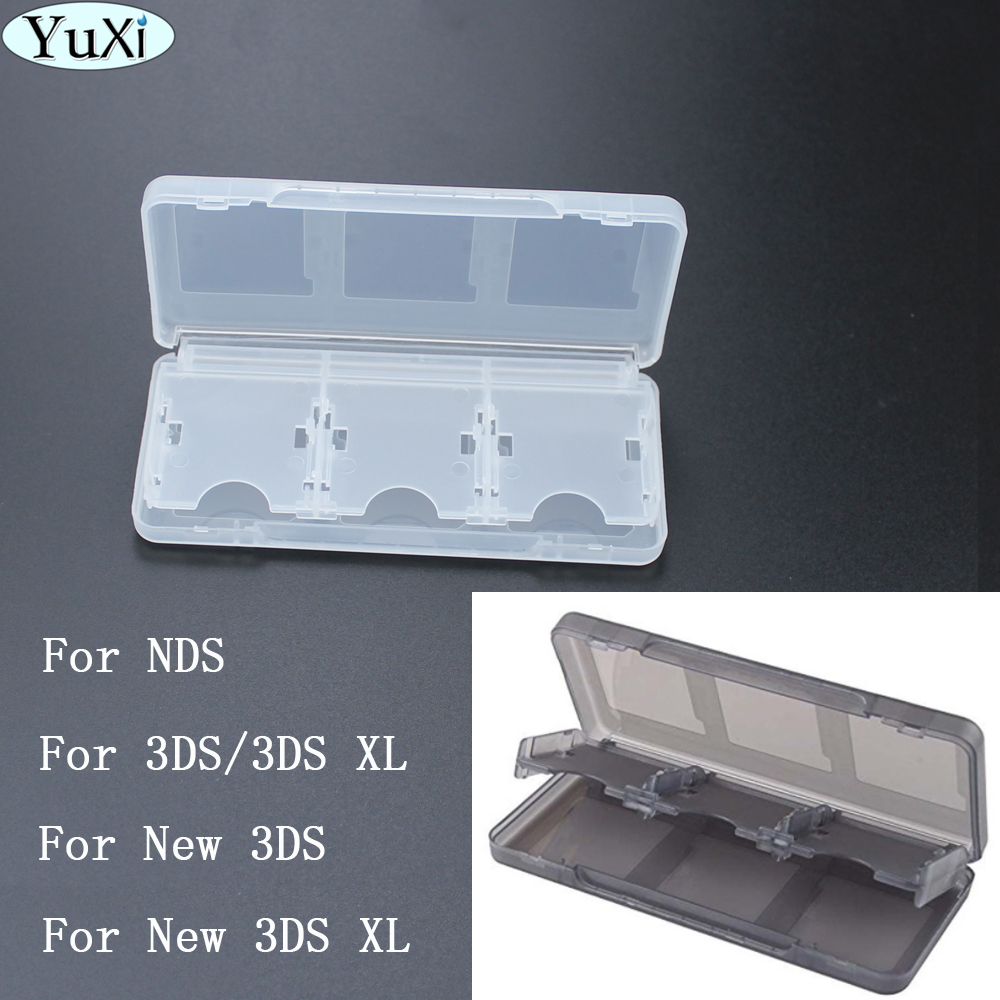 High Quality 6 In1 Game Card Case Box For Nintendo DS Lite For NDSL For NDS Portable New