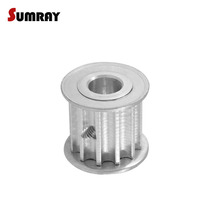 SUMRAY 5M 10T Timing Pulley  5/6/6.35/7mm Synchronous Wheel 16/21mm Belt Width CNC for 3D Printer