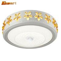 Hoge Kwaliteit LED Acryl Moderne Plafondlamp 110 v-220 v Home Verlichting Woonkamer Creatieve Kant Inbouw Plafondlamp