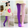 Girl's Stockings Tights Velet High Quality Patchwork Baby Girls Kids Dancing Tights Pantyhose 18 Colors 3-8Y