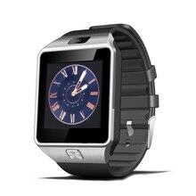 Smart Watch DZ09 Mit Kamera Bluetooth Armbanduhr Pedometer Unterstützung Sim-karte Smartwatch Für Ios Android Xiaomi Smart Telefon pk U8