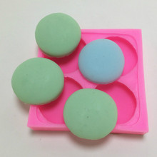 Macaron silicone Mould Chocolate Mold Fondant Cake Decoration Baking tool Handmade Soap Silicone mold