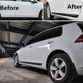 4PCS FIT FOR 2013-2015 VW GOLF 7 MK7 TITANIUM DOOR SIDE LINE GARNISH BODY MOLDING TRIM COVER PROTECTOR DOOR COVER BODY MOLDING
