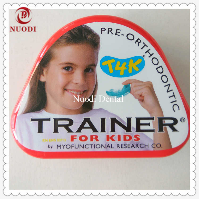 T4K Orthodontic Brace/Kids pre-orthodontic trainer T4K/MRC Trainer T4K teeth trainer appliance/trainer t4k for orthodontic t4k teeth orthodontic trainer made in australia phase 2 red color