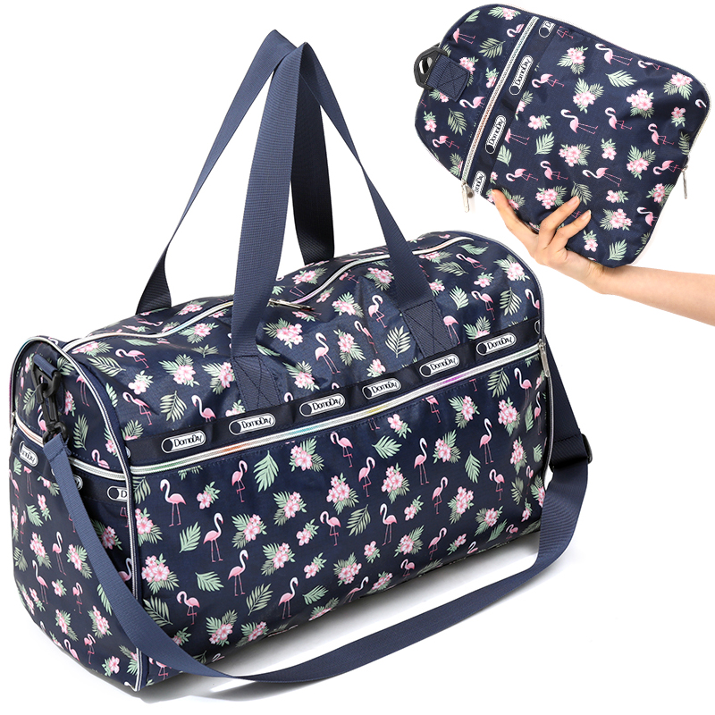 Waterproof Folding Travel Bags Hand Luggage Women Collapsibl