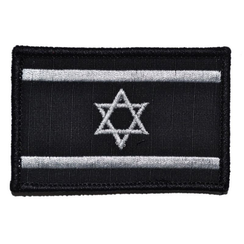 Badges New Fashion Israel Flag Star Wars Military Tactical Embroidery Army Morale Badge Armband 10 Style