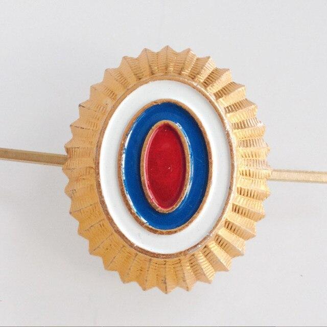 Us 4 35 40 Off Russia Gold Cap Badge Soviet Union Doi Emblem Ship Cockade Original War Medals In Pins Badges From Home Garden On Aliexpress Com