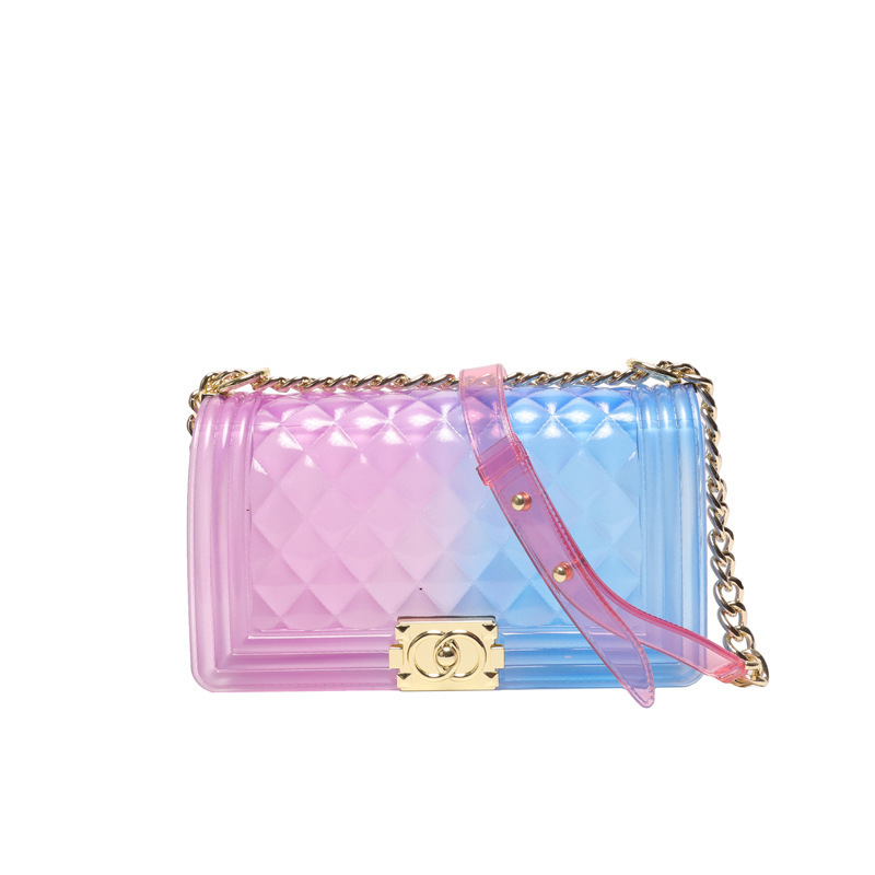 2019 Women Bags Crossbody Shoulder Transparent Clear Bag Jelly Color Candy Handbags Fashion Fairy Party Hand Bag Summer Spring2019 Women Bags Crossbody Shoulder Transparent Clear Bag Jelly Color Candy Handbags Fashion Fairy Party Hand Bag Summer Spring