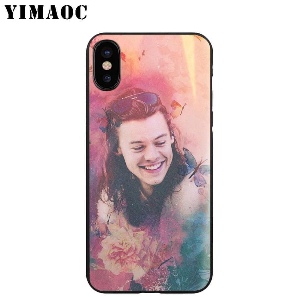 YIMAOC A26 ハリースタイルソフトシリコンケース iphone 11 プロ Xr Xs Max X または 10 8 7 6 6S プラス 5 5S 、 SE