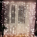 AC220V 3M x 2.5M 196LED  New Year Christmas Garlands String Christmas Light Party Garden Wedding Decor Curtain fairy Lights