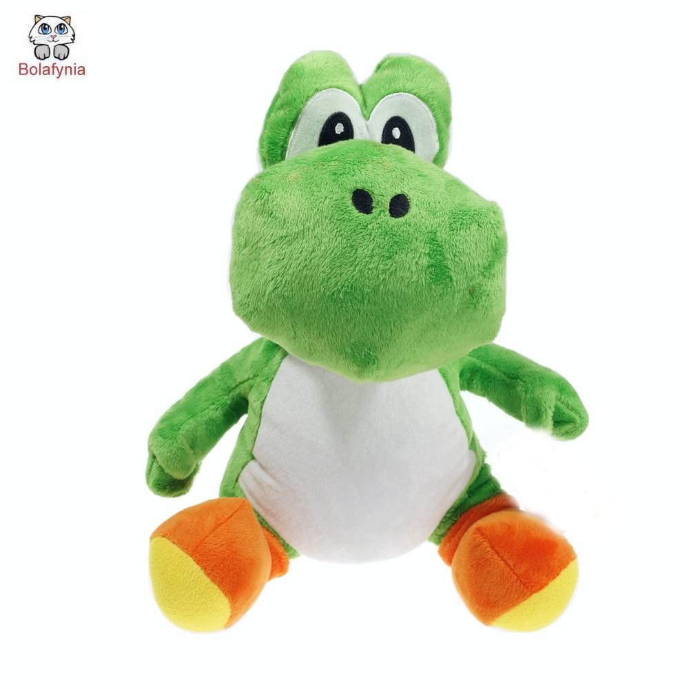 BOLAFYNIA Super Mario Bros gyermekek plüss játék sárkány baba gyerek Töltött játék születésnapi ajándék