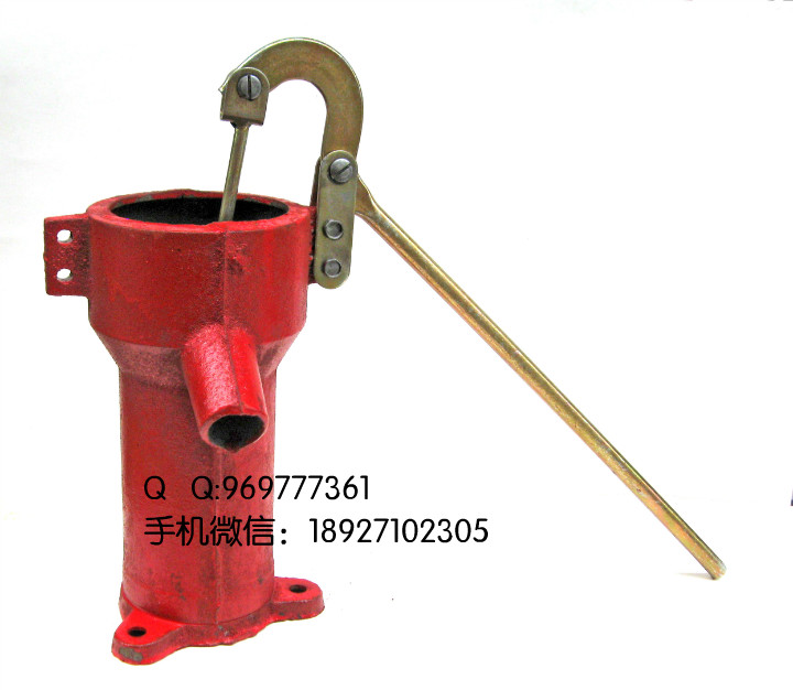 Hand pump Well pressure pump Well Oil pump Hand pressure  cast iron Deep well  Thick and durable wcb 75 portable gear oil pump cast iron 220v 50hz