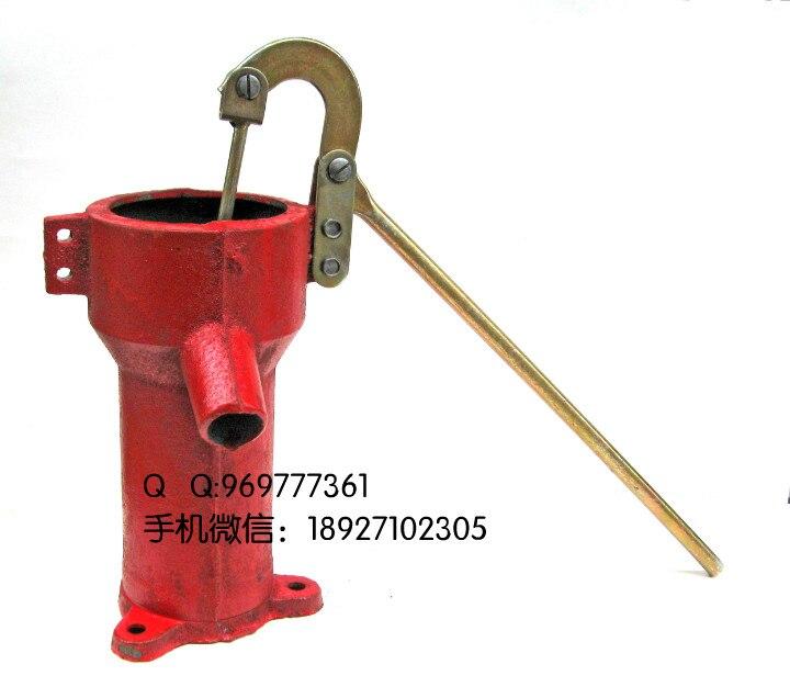 Pompe à main bien pompe à pression bien pompe à huile main pression fonte profonde bien épaisse et durable