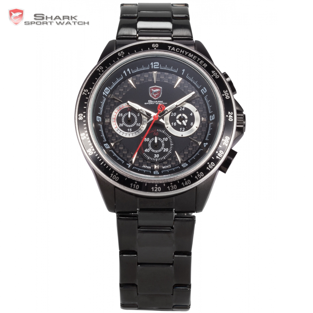 Bramble Shark Sport Watch Luxury Brand Black White 3D Logo Water Resistant Relogio Chronograph Quartz Sports Men Watches /SH243 ultra luxury 2 3 5 modes german motor watch winder white color wooden black pu leater inside automatic watch winder