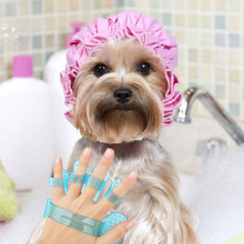 Plastic Dog/Puppy Bath / Shower Massage Brush
