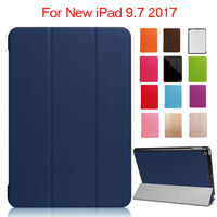 For IPad 9 7 2017 New Model PU Leather Case Shockproof Protective Stand For Apple IPad