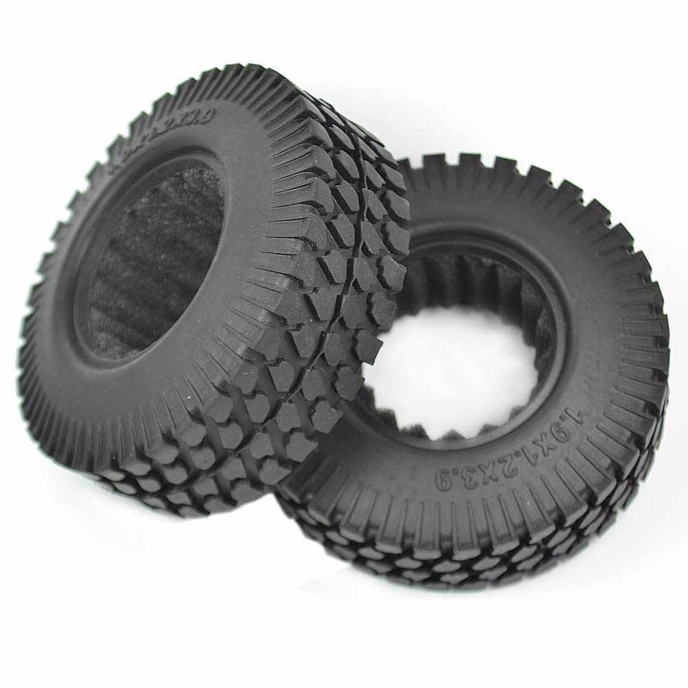 4 Pcs RC Rock Crawler 1.9 Inch Ban (98 Mm) untuk 1/10 RC Crawler Mobil Tamiya D90 SCX10 CC01