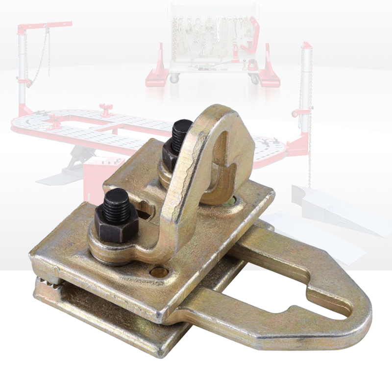 Car Body Frame Rack Clamp Puller Two Way Auto Collision Panel Beating Tool Metal