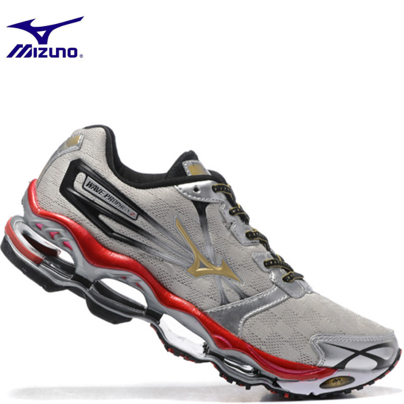 the best attitude d0834 2cc3c US $57.04 38% OFF|Original Mizuno Wave Prophecy 2 Men Shoes Lightweight  Breathable Shoes Footwear Loafers Men Casual Sneakers Weightlifting  Shoes-in ...