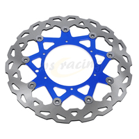 CNC 320MM Motorcycle Front Floating Brake Disc Rotor For YAMAHA YZ250 WR250 YZ250F WR250F WR426F YZ426F