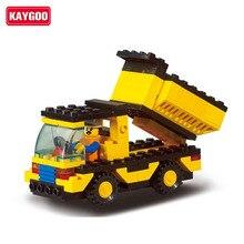 DIY Kids Toys Christmas Gifts Kaygoo 9500 blocks dump truck child patchwork toys building blocks assembling model blocks