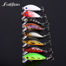 Fishing Lures Minnow Wobbler Tackle Crankbait Artificial Hard Baits Swimbait Hooks Plastic Pesca Isca 5cm 3.6g 1pcs