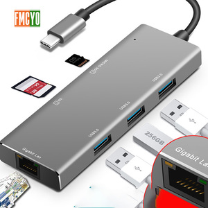 Image 5 - Laptop docking station Alles in een USB C naar HDMI Kaartlezer PD Adapter voor MacBookType C HUB