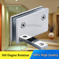 High Quality Square Bevel Two Way 90 Degree Single Stainless Steel Bathroom Shower Glass Hinges Glass