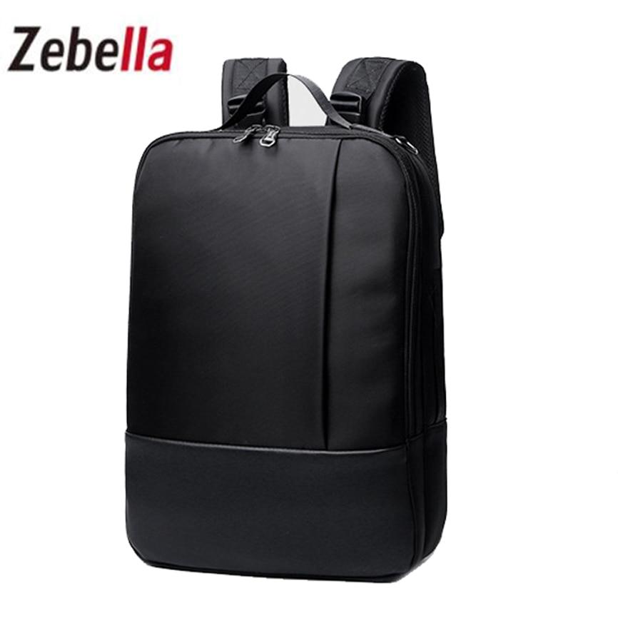 Zebella Men New Backpacks  For Businessmen Laptop  Portable Backpack School Bags  Waterproof Backpack