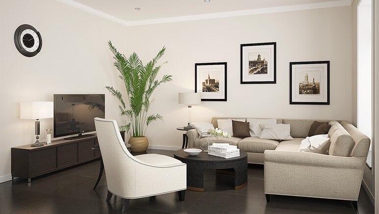 Встроенный дом Современная вилла мебель OP15-Villa01