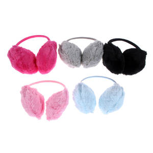 Plush Earmuffs Winter Ear-Warmers Earlap Cute Soft Solid Pick Colorful