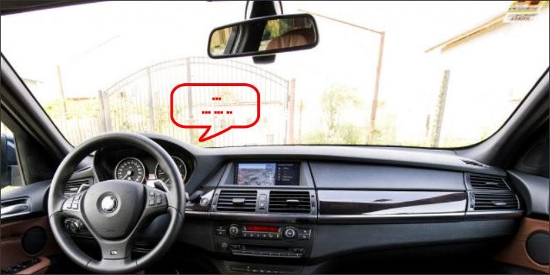 BMW X5 E70 Interior