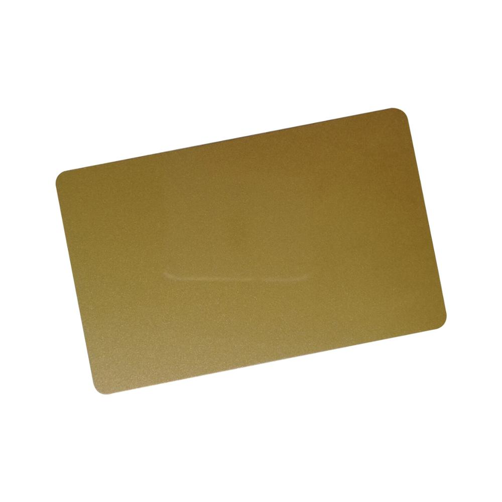 YARONGTECH Golden RFID MIFARE Classic 1K Card 13.56Mhz ISO 14443A (Pack Of 10)