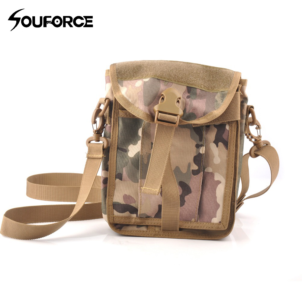 3 Color Tactical Messenger Bag Military Fan Multifunctional Bag Shoulder Bag Sling Pouch for Outdoor Hunting3 Color Tactical Messenger Bag Military Fan Multifunctional Bag Shoulder Bag Sling Pouch for Outdoor Hunting