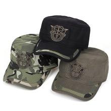 3582521c0c4 VORON New Arrivals Letter Cap Army Baseball Cap Men Tactical Navy Seal Army  Camo Cap Adjustable Visor Sun Hats Snapback Dad Hat