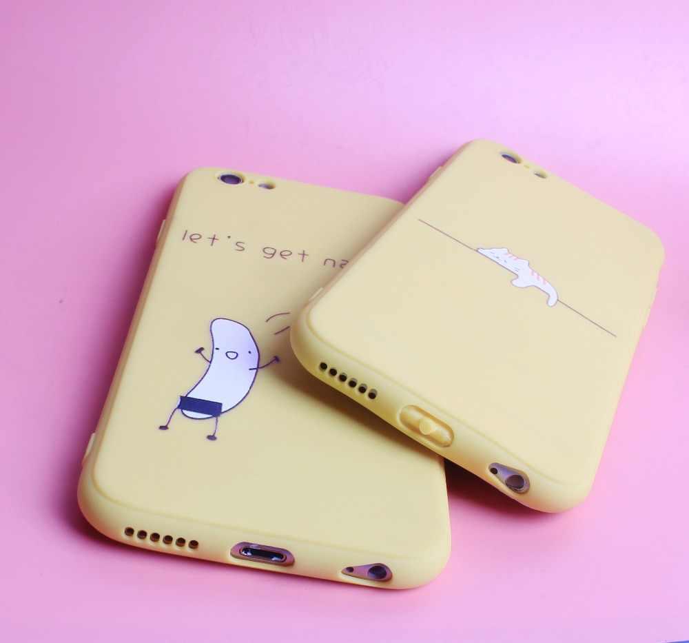 Caso de silicone de luxo para iphone 6 s capa funda capa macia para iphone 7 8plus 7 mais 8 x xs 6 s 5 5S se telefone capinha