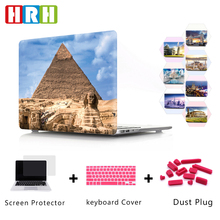 HRH World Famous Building Egyptian Pyramid Burj Khalifa Laptop Case for Apple for MacBook Air Pro Retina 11 12 13 15 Touch Bar шар pyramid super aramith pro 13 68мм