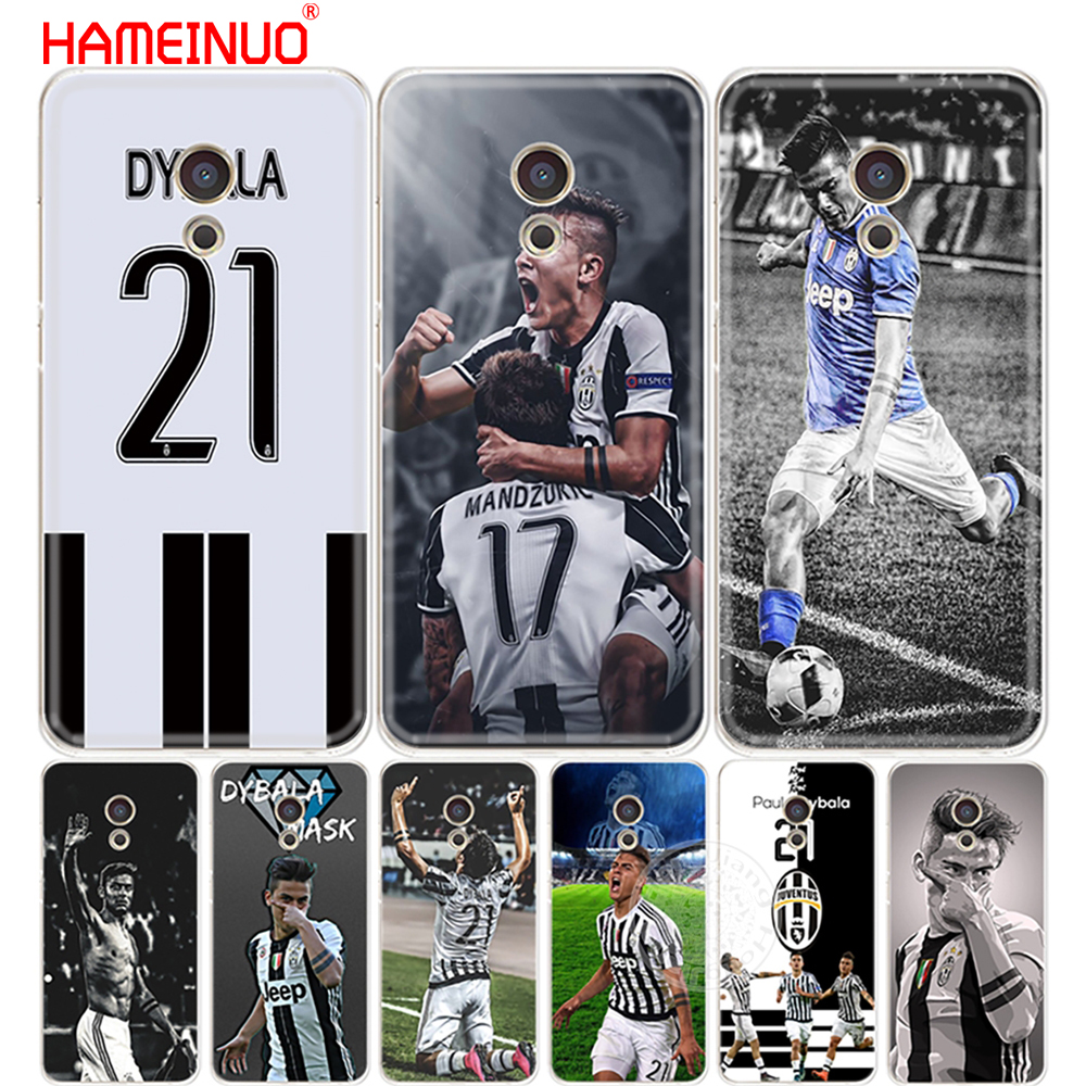 HAMEINUO Italy famous soccer 21 Paulo DYBALA Cover Case for Meizu M5 M5S M6 M2 M3 M3S MX4 MX5 MX6 PRO 6 5 U10 U20 note plus