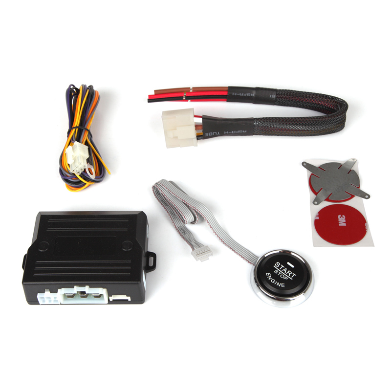 Top Car Engine Push Start Button/RFID Engine Lock Ignition <font><b>Starter</b></font>/Keyless Entry Keyless Go System, Engine Start Stop System