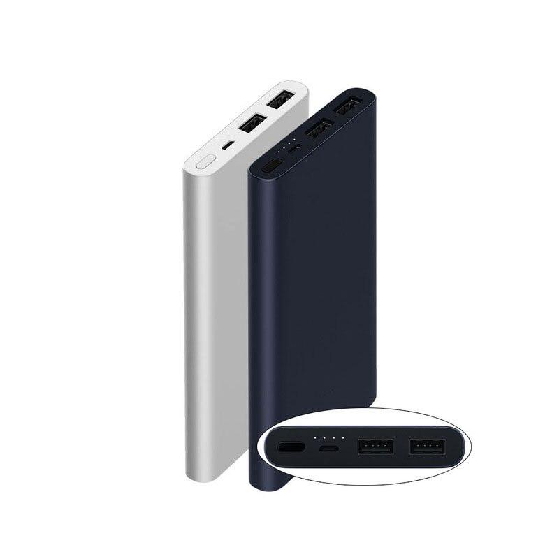 10000 mAh Xiaomi Energienbank 2 Quick Charge Externe Batterie Unterstützung 5 V/9 V/12 V Max 15 Watt für Android und iOS Handys