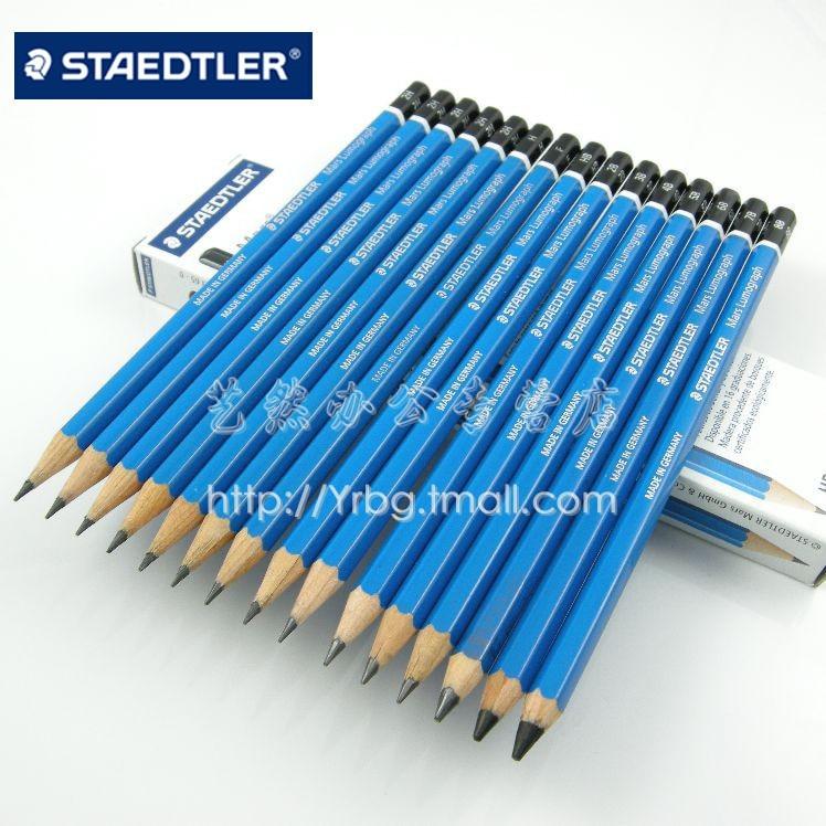 staedtler 100 blue lever drawing pencil top pencil sketch in