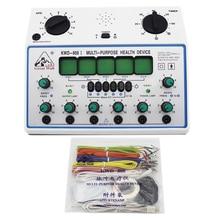 KWD808-I Электрический акупунктурный стимулятор машина Электрические нерва мышц 6 каналов Выход патч массажер уход